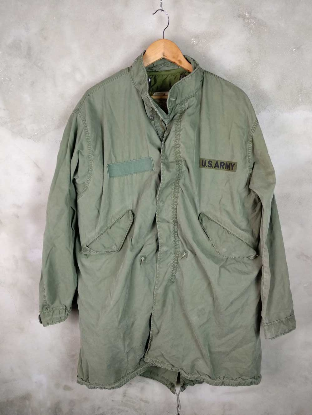the best attitude ab726 ee954 Parka M65 Fishtail